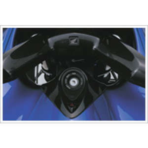 HONDA Center Cowl Cover: Carbon Style Type