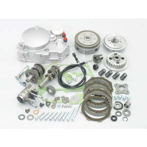 KITACO ULTRA Drive Kit Typ X3 (Silber Clutch Cover)