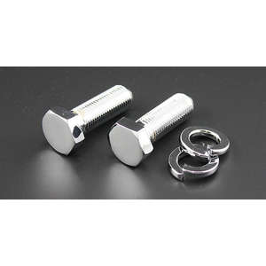 PMC(Performance Motorcycle Creative) Z/KZ Series Chromium Plating Stem Mount Bolt Under Stem Hexagon Bolt Set