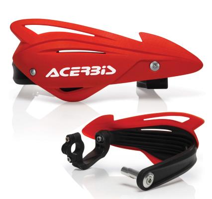 Acerbis Tri-Fit Handguards Red