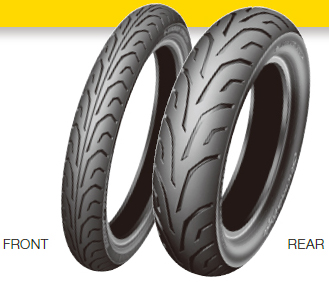 DUNLOP ARROWMAX GT502 [120/70R19 MC 60V TL] Tire
