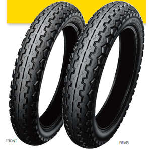 DUNLOP GP SERIES TT100GP [110/90-17 MC 60H TL] Tire