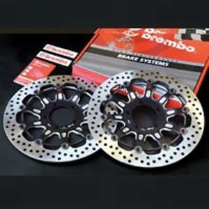 brembo [Groove] Floating Disc (Left and Right Set)