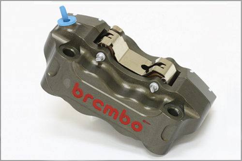 brembo : CNC Radial Mount Brake Caliper Kit P4 30/34 100mm