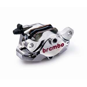 brembo CNC Bremssattel hinten P2 84mm NIckel Coating