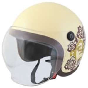 SPEED PIT BS-6SR Shion ROSEHEART Small Jet Helmet