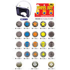 DAMMTRAX Decorative Buttons