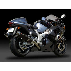 YOSHIMURA Slip-on Silencer Tri-Oval Cyclone (1 End)