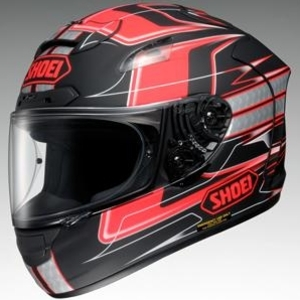 SHOEI X-12 TRAJECTORY [TC-1 Red/Matte Black] Helmet