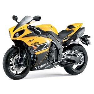 YAMAHA Strobe Exterior Set Yellow/Black