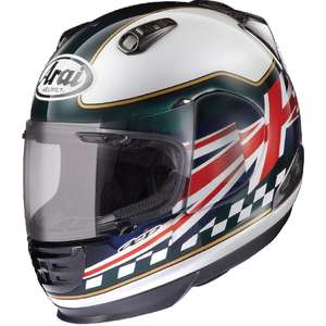 Arai [Closeout Item] RAPIDE-IR FLAG UK Helmet [Special Price Item]