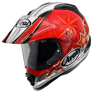 Arai TOUR-CROSS3 AURORA [Red] Helmet