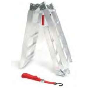 ACTIVE Aluminum 3 Stages Folding Ladder (with Tying Down Rope)