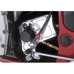 Agras Sprocket Cover on '98 Bandit 1200