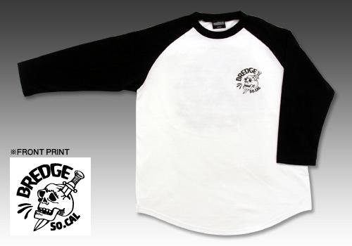 【BREDGE】LOWBROW Raglan T恤T恤 - 「Webike-摩托百貨」
