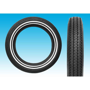 EASYRIDERS SHINKO E240 Double Whitewall Tire [MT90-16]