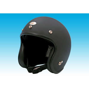 EASYRIDERS 70s Small Helmet Mat Black 1