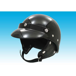 EASYRIDERS Police Type Helmet Round with Visor