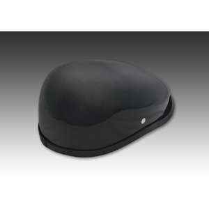 EASYRIDERS [Items Eligible For Outletsale] Hunting Cap Helmet Black Without Sticker [Specials]