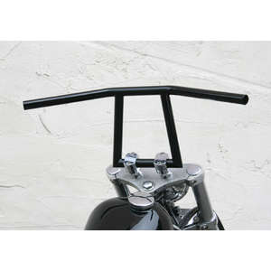 EASYRIDERS 8 Inch Attack Bar Black with Dent