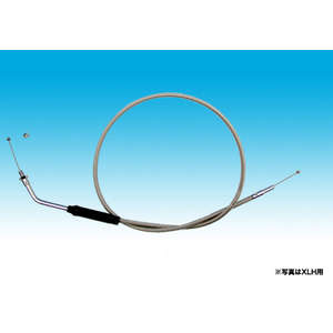 EASYRIDERS Throttle Cable Stainless Steel/Standard