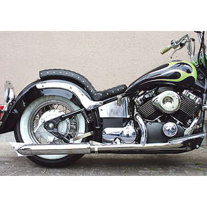 EASYRIDERS FLH Style 2in1 Knuckle Style Exhaust System