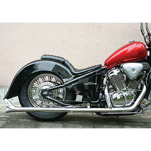 EASYRIDERS FLH Style 2in1 Fish Lurus Sistem Tail Exhaust