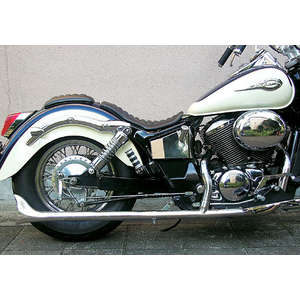 EASYRIDERS FLH Style 2in1 Straight Fish Tail Exhaust System