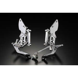 OVER RACING Rear Sets GP-PERFORMANCE (Disc) SIL