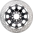 Premium 競賽型前煞車碟盤 (黑色)| Webike摩托百貨