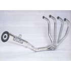 KERKER All Stainless Steel Megaphone Exhaust