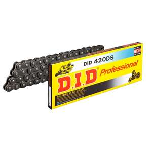 DID STD Series Chain 420DS Steel [with Clip (RJ) Joint]