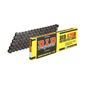 DID STD Series Chain 420D Steel [with Clip (RJ) Joint]