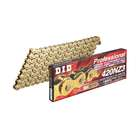 DID SUPER Non Seal Chain 420NZ3 Gold [with Clip (RJ) Joint]