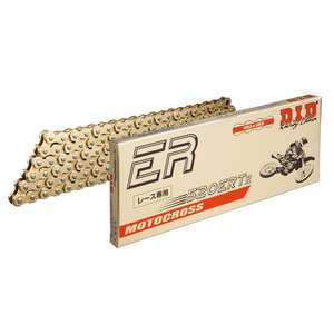 DID ER Series Chain 520ERT2 Gold [with Clip (RJ) Joint]