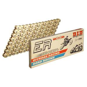 DID ER Series Chain 520ERV3 Gold [con unión conjunta Riveting (ZJ)]