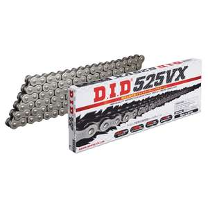 DID VX Series Chain 525VX Steel [with Riveting (ZJ) Joint]