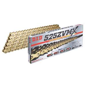 DID ZVM-X Series Chain 525ZVM-X Gold [with Riveting (ZJ) Joint]