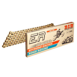 DID ER Series Chain 520ERS2 Gold [with Clip (RJ) Joint]