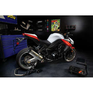 Two Brothers Racing DOLINA. Dual Slip-on Silencer M2 Titanium Silencer