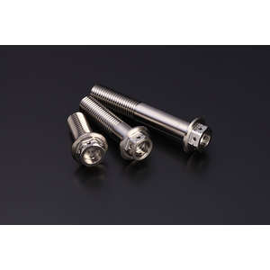 BOLZEN Flange Hexagon Bolt [Titanium]