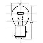 尾燈用燈泡