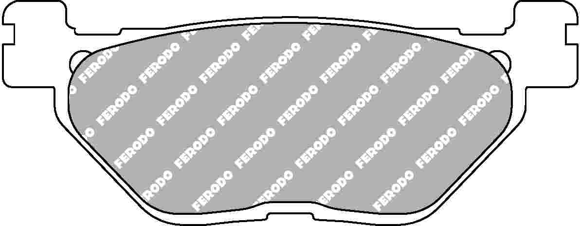 FERODO Eco Friction Brake Pads ECO Friction Compound