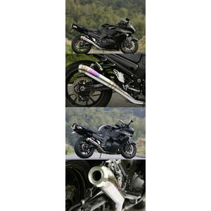 TSUKIGI RACING TR Exhaust System Full Exhaust System (Moonlight Silencer)