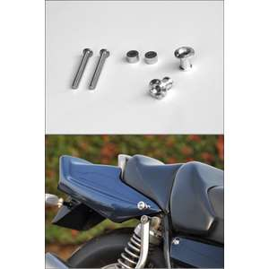 CHIC DESIGN Billet Luggage Hook (for GUYRA Tail Cowl Kit)