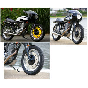 Suspensions / Rearsets / Wheels / Swingarms