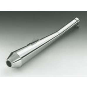 Peyton Place Stainless/Norton Type Slip-on Silencer