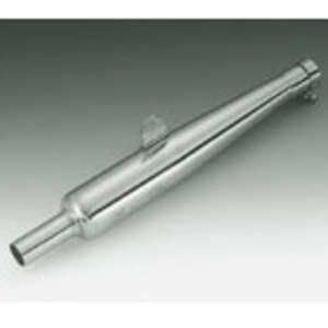 Peyton Place Stainless/Gold Star Type Slip-on Silencer
