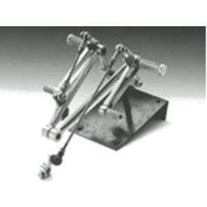 Peyton Place Stainless Steel/Rear Sets Kit