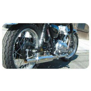 POSH PCM Stainless Steel Triumph Full Exhaust System